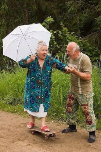 Inspirational Old People, Enjoying their life 005